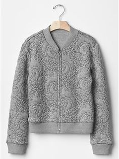 Wreath quilted bomber                                                                               More