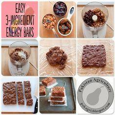 3 Ingredient Energy Bars