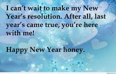 New year love resolution