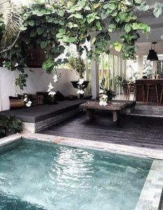 Une petite piscine comme à Bali