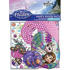 No need to worry about finding the perfect party favors, get everything you need with our Disney Frozen Party Favors Pack!
