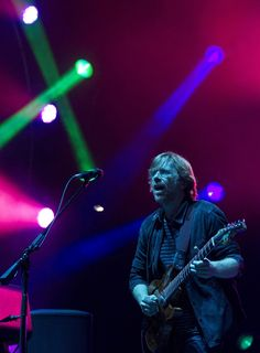 Trey Anastasio of Phish performs during the Bonnaroo Music and Arts Festival in Manchester, Tenn. Trey Anastasio, Phish, Art Festival, Inspire Me, Entertaining, Concert, Marni, Manchester, Musicians