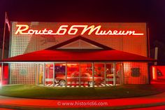 Clinton, OK - 2014 : The Oklahoma Route 66 Museum offers a self guided narrated tour along the history of Route Route 66 Oklahoma, Old Route 66, Route 66 Road Trip, Historic Route 66, Travel Route, Travel Oklahoma, Travel Usa, Places To Travel, Places To Go