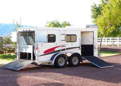 unique horse trailers | Hart 6 Horse Custom Miniature Horse Trailer Waddell, Arizona 85355