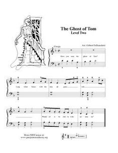ghost of tom theme ghosts by an unknown author lyric quote