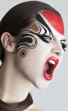 Wild makeup Fantasy@tracypillarinos.