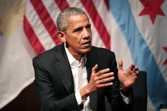 CHICAGO (The Borowitz Report)—In an appearance at the University of Chicago on Monday, former President Barack Obama unloaded a relentless barrage of complete sentences in what was widely seen as a brutal attack on his successor, Donald Trump.