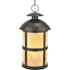 22 Inch W Altamire Hanging Lantern Pendant - Custom Made