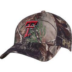 Under Armour™ Men's Texas Tech University Realtree Camo Flex Cap (, Size Flex Fit) - NCAA Licensed Product, NCAA Men's Caps at Academy Sports