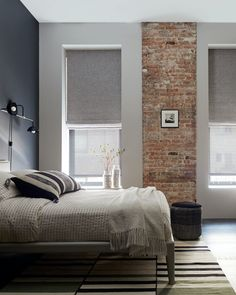 The perfect place to make the most of your weekend. Get the look at theshadestore.com. Garage Remodel, Bedroom Windows, Roller Shades, Design Consultant, Beautiful Bedrooms, Window Treatments, Perfect Place, Blinds, House