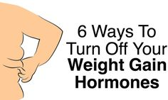 7 different hormones have been linked to weight gain, but once you know how they work in the body, you can turn off their power to make you overweight...