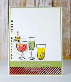 Cheers to You birthday card
