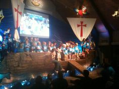 Ship on stage at HIgh Seas VBS