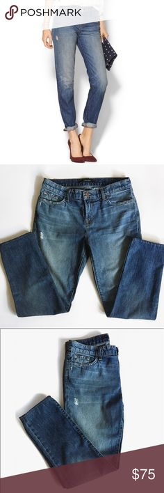 J brand Jake boyfriend style jeans J brand Jake boyfriend style jeans. Perfect jeans for a cute and casual look. These are a size 27 and in good used condition. ❌no trades. J Brand Jeans Boyfriend
