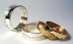 modern rings - Google Search