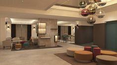 Hotel 4* - lobby & bar Lobby Bar, Restaurants, Hotels, Restaurant
