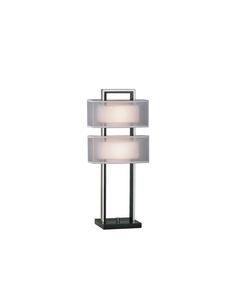 The Amarillo Silver Accent Table Lamp adds the perfect touch of modern design to any home. This contemporary table light has a dark brown wood. Silver Table Lamps, Lamp Table, Nova, Contemporary Table Lamps, Modern Table, Modern Contemporary, Lamp Shade Store, Outdoor Light Fixtures, Outdoor Lighting