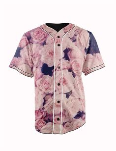 Pink Roses Button... http://www.jakkoutthebxx.com/products/real-usa-size-pink-roses-floral-3d-sublimation-print-custom-made-button-up-baseball-jersey-plus-size?utm_campaign=social_autopilot&utm_source=pin&utm_medium=pin  #wanelo #shoppingtime #whattobuy #onlineshopping #trending #shoppingonline #onlineshopping #new