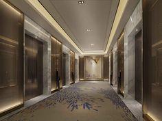 高档酒店室内设计 | Interscap