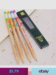 Printed Pencils Fun Express Pencils 12 Pieces Birthday Donut Party Pencils W// Erasers for Birthday Stationery