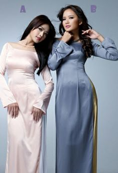 Bridesmaid's ao dai