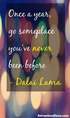 Quotes to inspire your everyday life. Click for AdventureDaze!