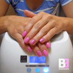 Gelish Let's Go To The Hop (01481) Playin' It Cool Collection & Gelish Shattered Beauty (01875) Trends #2 Collection