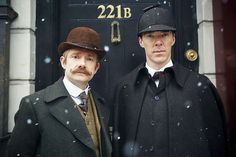 Sherlock: The Abominable Bride , a 90-minute special, will premiere on Friday, January 1, 2016 at 9 p.m. on Masterpiece on PBS. The special finds finds Sherlock (Benedict Cumberbatch) and Dr. Watson (Martin Freeman) in 1890s London. The Abominable Bride is a one-off special; Season 4 of Sherlock will go into production in Spring 2016, though no airdate has been set. Sherlock: The Abominable Bride airs January 1, 2016 at 9 p.m. on Masterpiece on PBS.