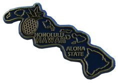 MGI Companies, Inc. - Hawaii State Magnet, $1.49 (http://www.internationalgiftitems.com/hawaii-state-magnet/)