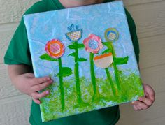 Crafting with Kids Spring Art