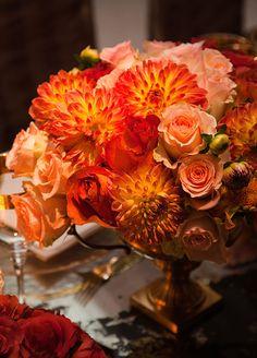 10 FAVORITE FALL WEDDING FLOWERS: #3. Dahlia