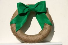 St. Patrick's Day Wreath on Etsy
