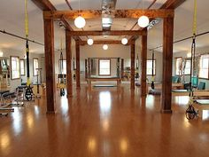 This is the beautiful Pilates studio in Fairfield where I work.