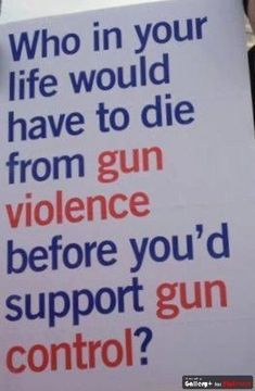 Truth be told.Who in your life would have to die from gun violence before you'd support gun control? This Is Your Life, In This World, March For Our Lives, Protest Signs, Protest Art, Political Views, Liberal Views, Pro Choice, Gun Control