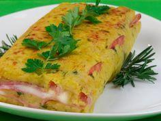 Ruladă din cartofi cu șuncă și mozzarella – un aperitiv cu un gust uimitor, pe care nimeni nu-l va refuza!