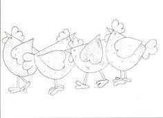 Free printable coloring page featuring a chicken, hen