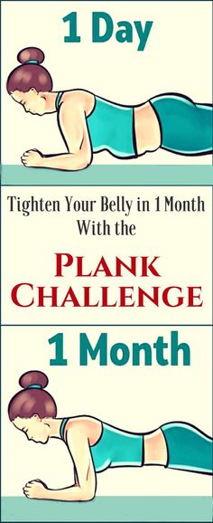 Tighten Your Belly in 1 Month With the Plank Challenge - TIMES HEALTH Magazine