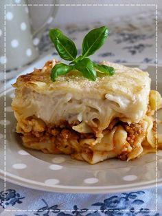 Zapékané těstoviny alá lasagne