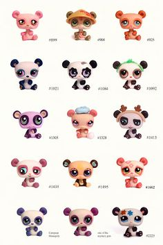 Littlest Pet Shop: Pets: Panda Little Pet Shop, Little Pets, Cute Animal Memes, Cute Animals, Lps Dachshund, Pitbull, Lps For Sale, Lps Accessories, Lps Toys