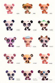 Nicole`s LPS blog - Littlest Pet Shop: Pets: Panda