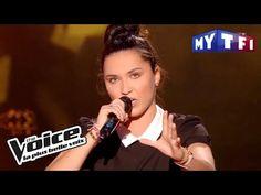 Camille Esteban « Dans le Noir » (Diam's) | The Voice 2017 | Blind Audition - YouTube