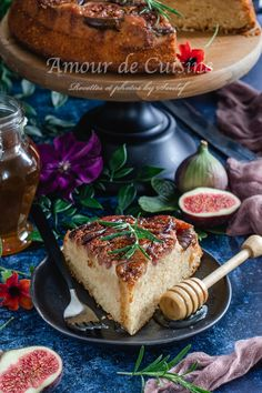 French Toast, Breakfast, Food, Mediterranean Kitchen, Moroccan Cuisine, Figs, World Cuisine, Cooking Food, Morning Coffee