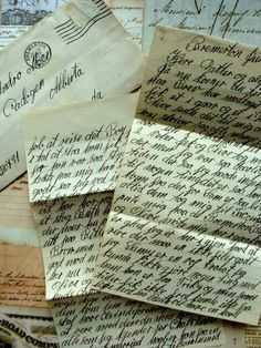 Quick, before Summer ends, spend some time to write your loved ones an actual letter. Because, in the future, your grandchildren won't treasure a box of your old text messages...  ~~  Houston Foodlovers Book Club