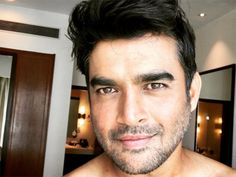 Madhavan is hotness personified in this new photoshoot pic! - Move over the shower selfie; this new HOT picture of R Madhavan is gonna cast an everlasting spell on you! Madhavan Actor, R Madhavan, Bollywood Actors, Bollywood News, Bollywood Celebrities, Jawline Men, Vijay Actor, Dia Mirza, Actor