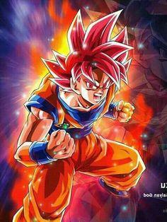 Goku Super Sayajin Fase Dios