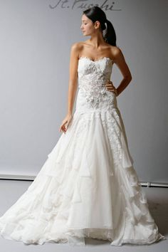 10 Beautiful 2013 Wedding Gowns by St. Pucchi   OneWed
