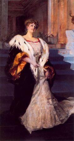 Retrato de doña Elena Ortuzar de Blasco Ibañez
