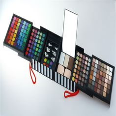 Kuulee Professional 177 Full Color Eyeshadow Make Up Palette Blush Concealer Cosmetic Makeup Shimmer Matte Eyeshadow Brush Set Kit - 1no. -- Check this awesome image  : DIY Makeup