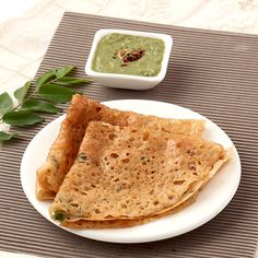 Instant  Wheat Flour and Rice Flour Dosa - Easy to make crepe with few basic ingredients to serve in  breakfast or light evening dinner.