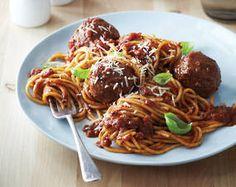 The Best Spaghetti & Meatballs